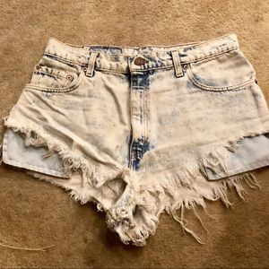 Levi's Denim Shorts from Urban Outfitters
